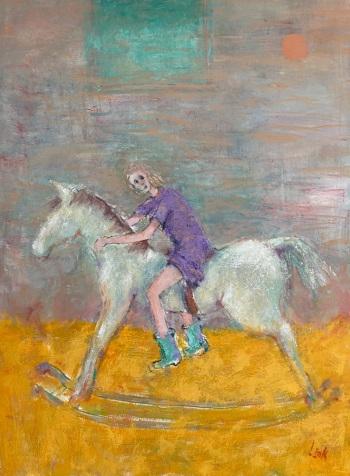 Oil on canvas. • 50x76cms • £1250