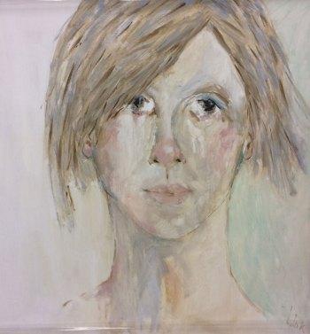 Oil on canvas Ophelia