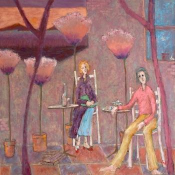 Oil on canvas. • 84x84cms • £3000